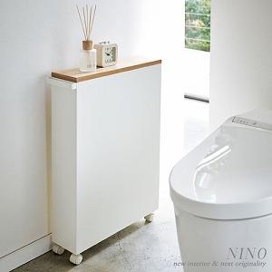 S-08-トイレ収納スリムワゴン④